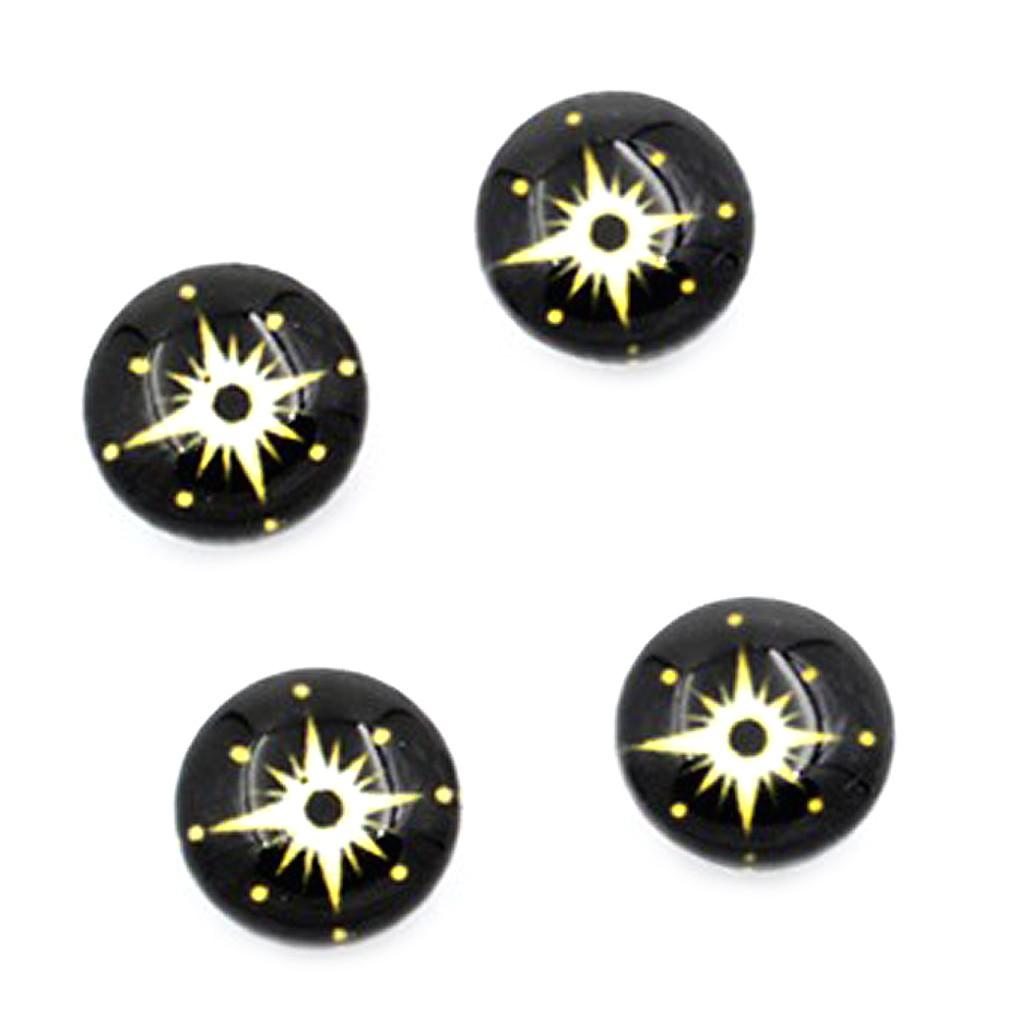 十字閃亮星星 磁石 無耳洞耳環 免穿耳洞 耳骨 磁鐵 艾豆『B3198』