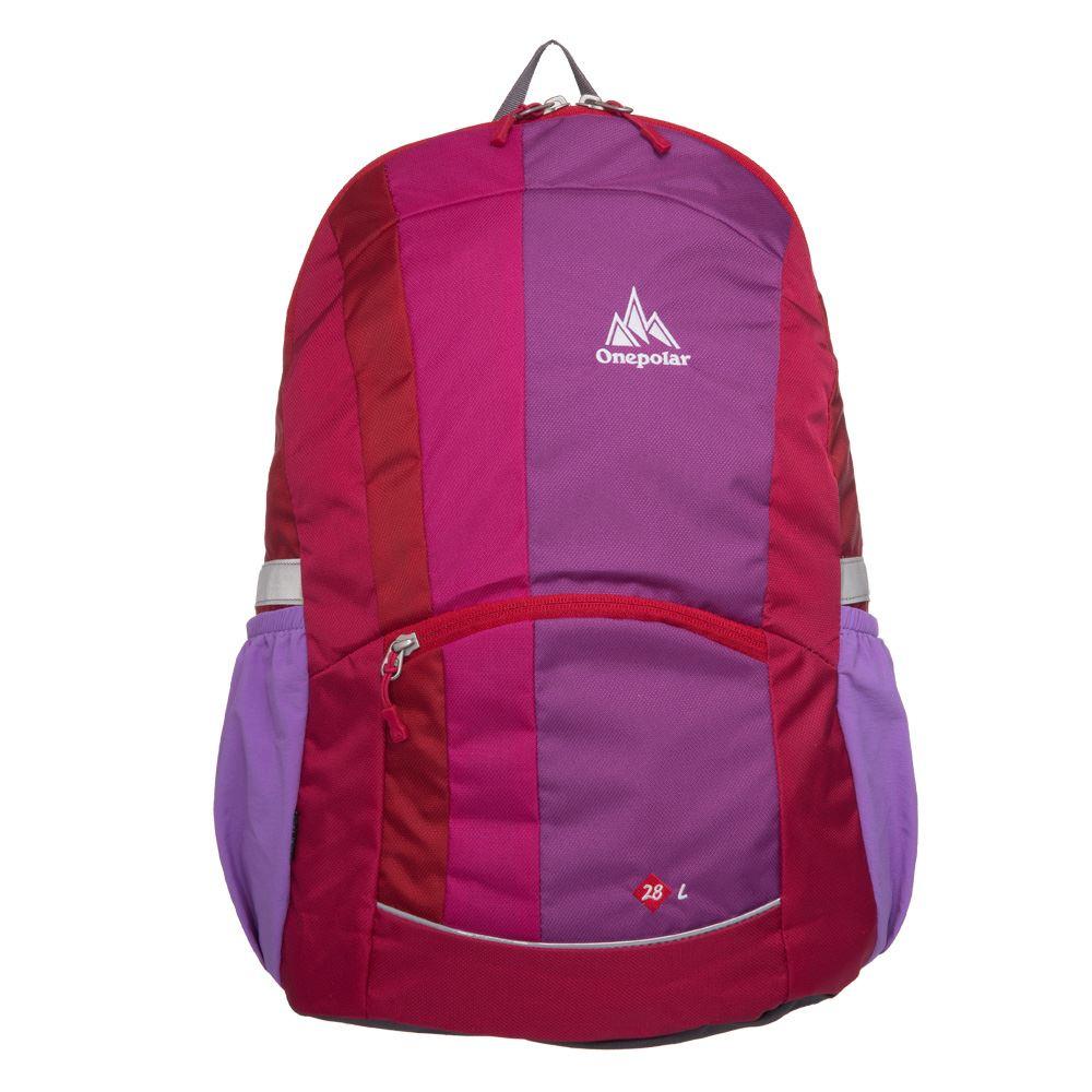 【ONE POLAR】28L輕量登山後背包-紫 PL02008PL