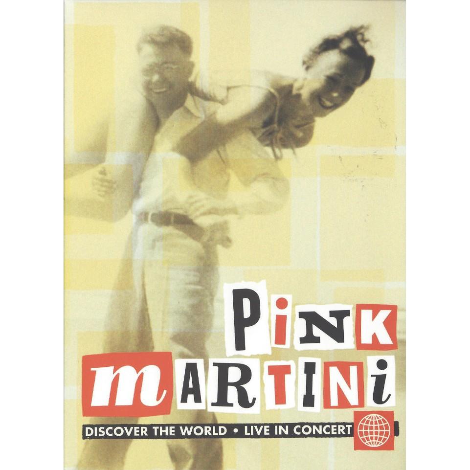 紅粉馬丁尼 發現新世界 DVD Pink Martini Discover The World ND68543