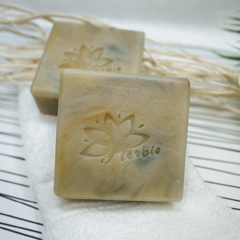 植萃渲染手工皂-晶石(涼感/添加薄荷) Qrari