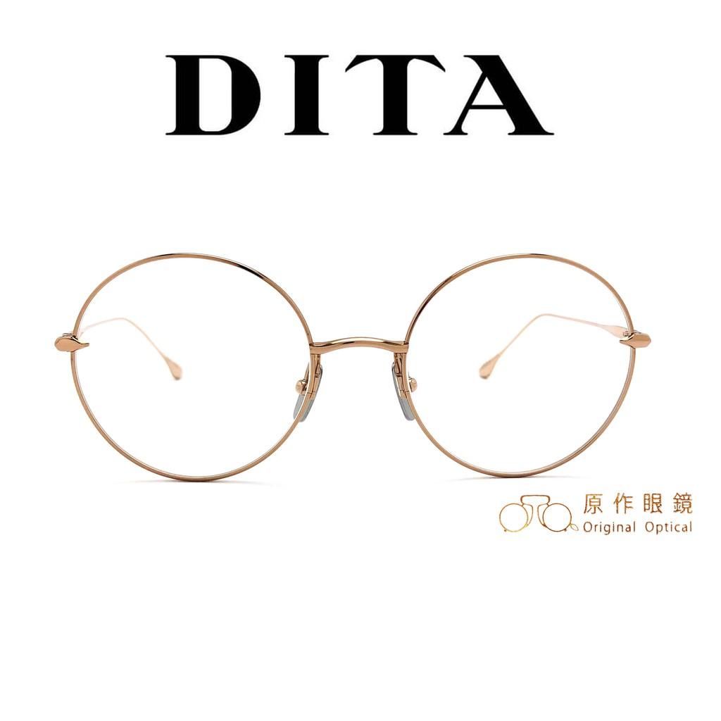DITA 光學眼鏡 BELIEVER DTX506 RGD (玫瑰金)  鄭秀文同款【原作眼鏡】