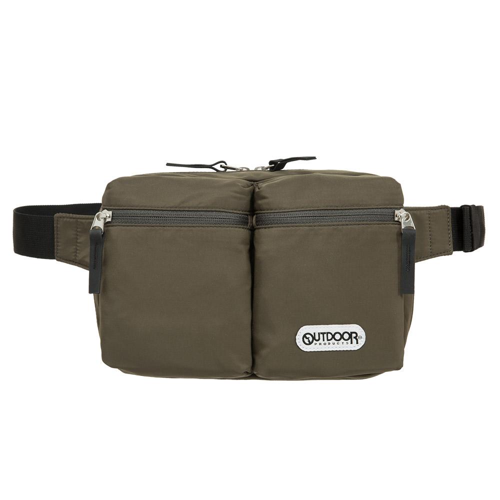 【OUTDOOR】慢活宣言-腰包/單肩二用包-橄欖綠 OD201108OE