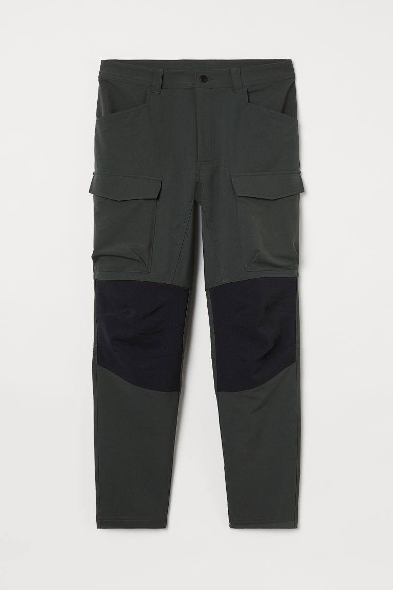 H & M - 戶外運動長褲 - 綠色