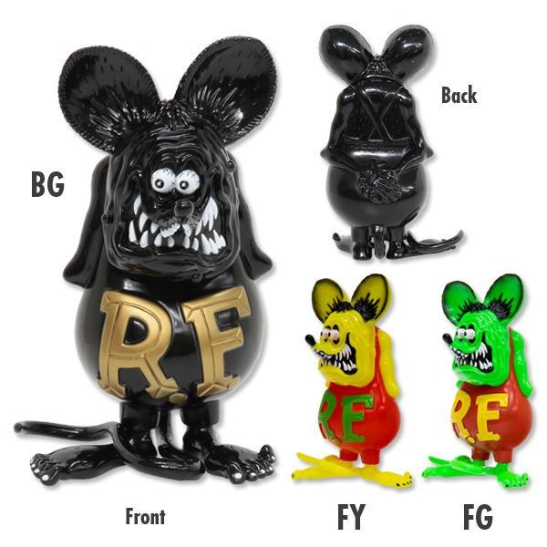 【MOONEYES】日本製 Rat Fink RF 老鼠芬克 芬克鼠 軟膠公仔 三色