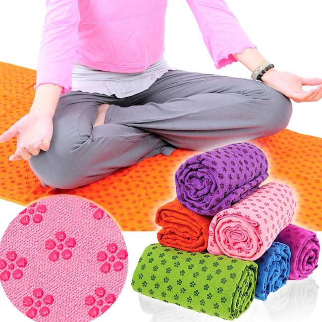 100%超細纖維瑜珈鋪巾(送收納袋)D087-125運動鋪巾運動墊瑜珈墊.止滑墊防滑墊瑜珈毯子.野餐墊腳踏墊子瑜珈用品