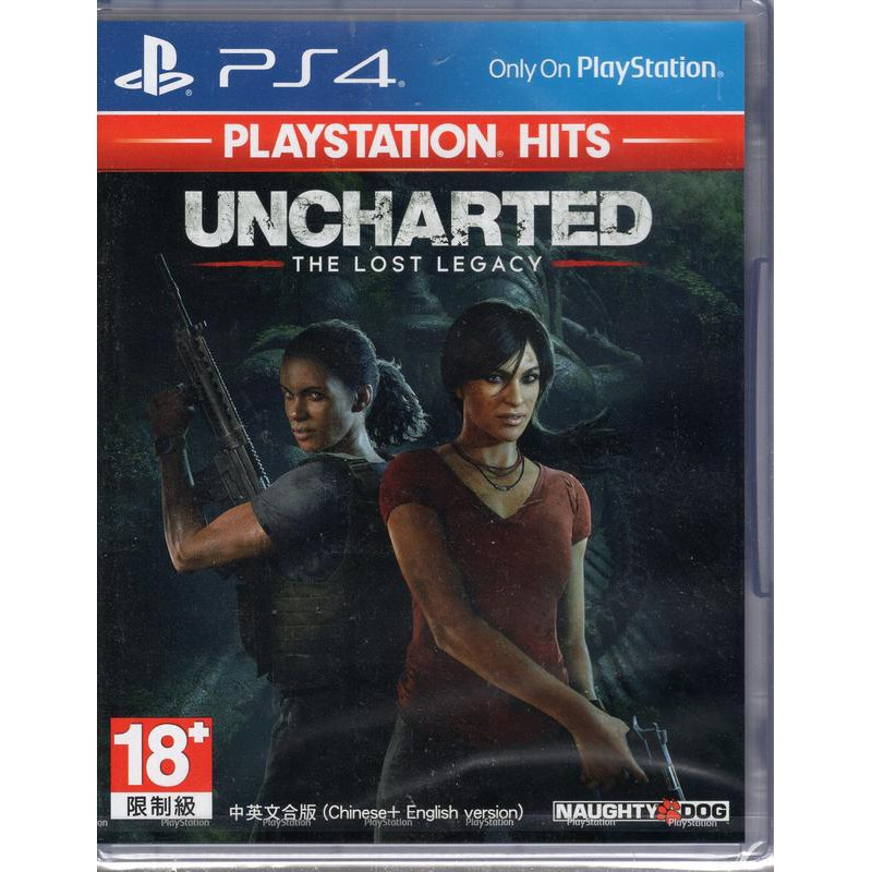 PS4遊戲 PlayStation Hits 秘境探險 失落的遺產 Uncharted 中文亞版【魔力電玩】