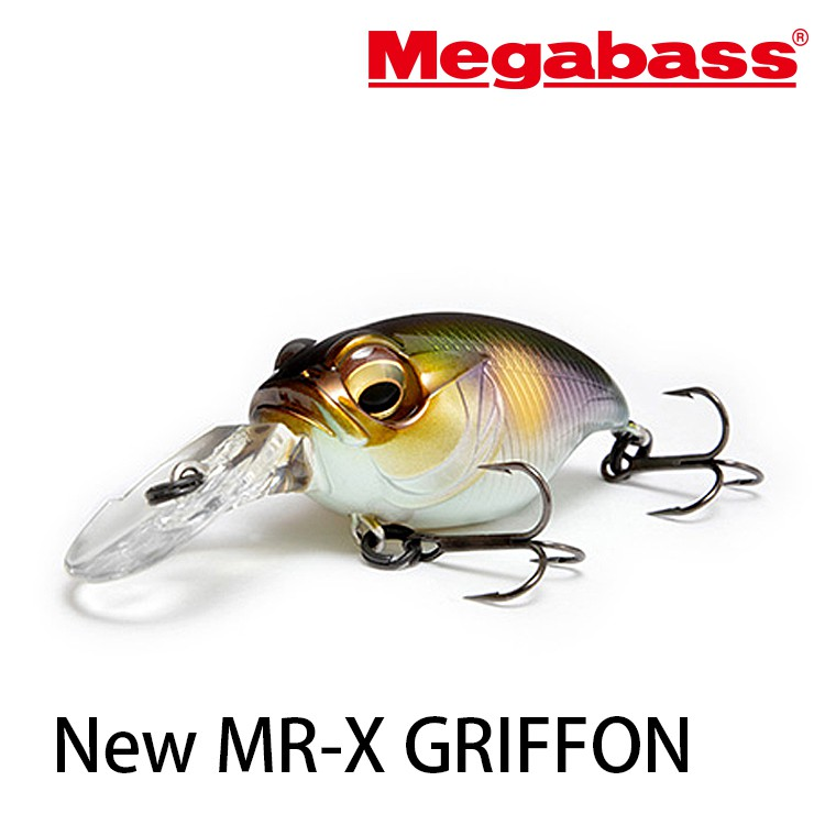 MEGABASS New MR-X GRIFFON  硬餌  [漁拓釣具]