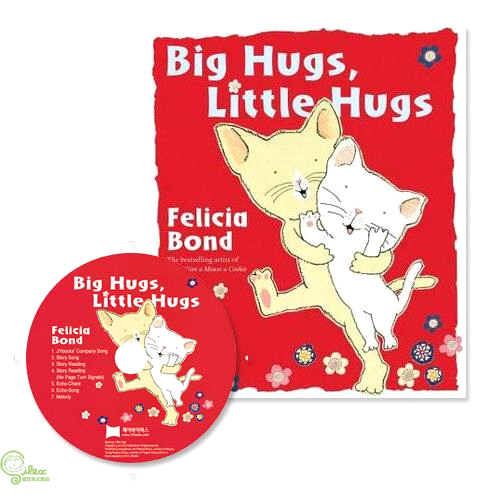 Big Hugs Little Hugs (1平裝+1CD)(韓國JY Books版)【禮筑外文書店】[79折]