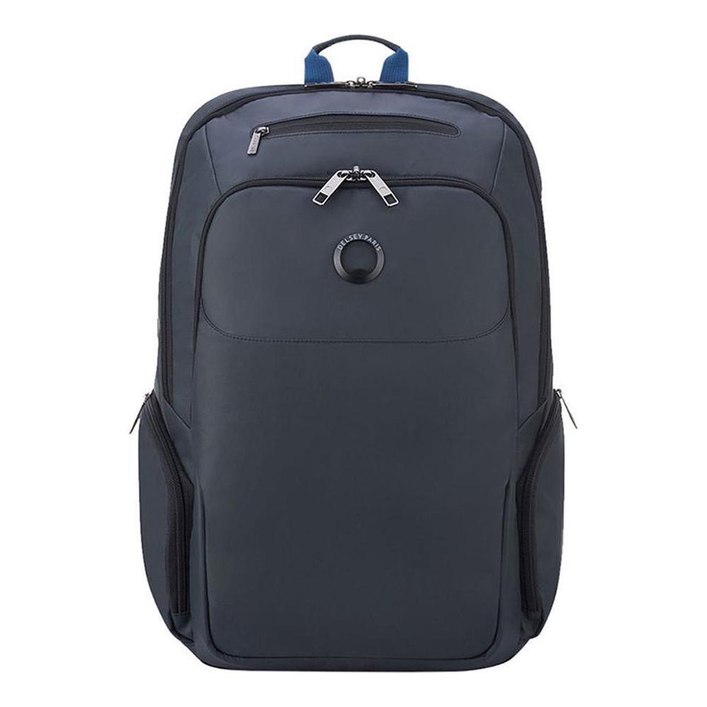 【DELSEY】PARVIS PLUS-15.6吋筆電後背包-灰色 00394460911