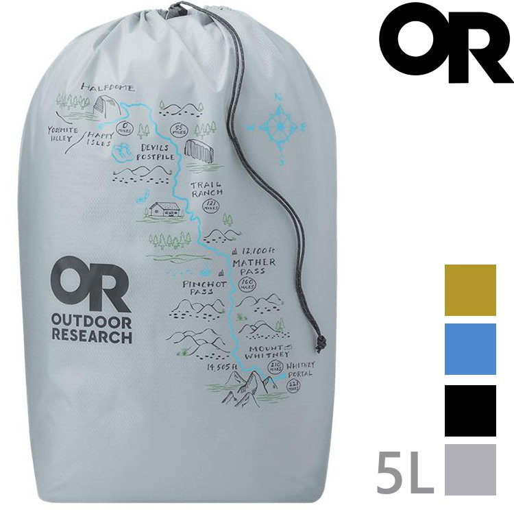 Outdoor Research PackOut Graphic Stuff Sack 5L 圖案收納袋OR281175