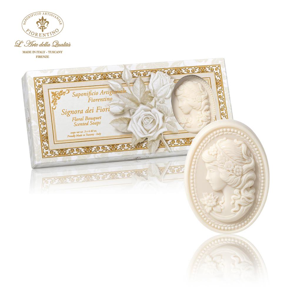 義大利佛羅倫斯美藝皂 花之女神禮盒組 125g x 3入
