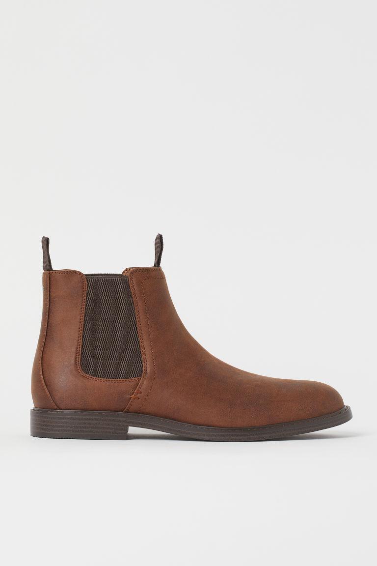 H & M - 切爾西靴 - 褐色