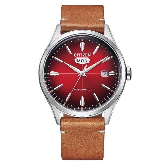 CITIZEN星辰 NH8390-11X 復刻CITIZEN C7機械腕錶