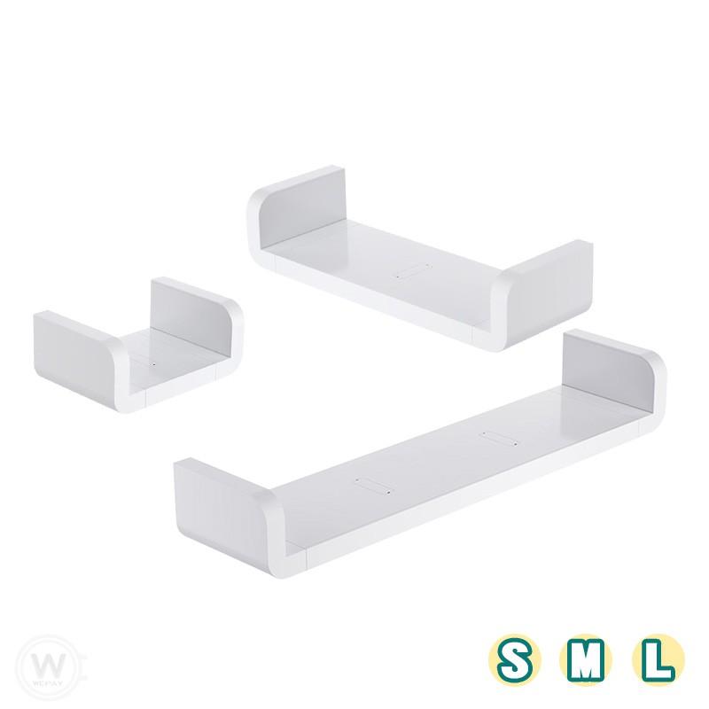 置物架 (實拍+用給你看) 【免釘免鑽孔】 浴室置物架 收納架 壁掛架 壁貼置物架 U型架 層架 牆面置物架 防水層架