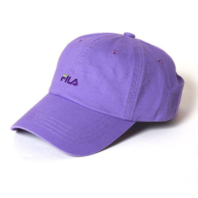 EVANGELION STORE 650 FILA 經典款帽子 LIMITED 紫色 EVA 01款
