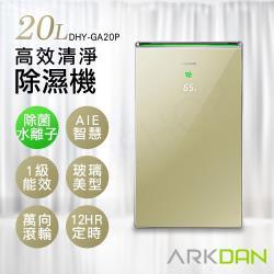 ARKDAN阿沺 1級能效 20L高效清淨除濕機 DHY-GA20P