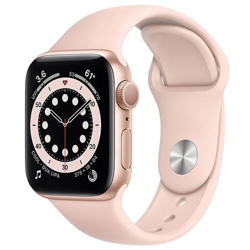 Apple Watch Series 6 GPS版-鋁金屬殼搭配運動型錶帶【44m】【愛買】