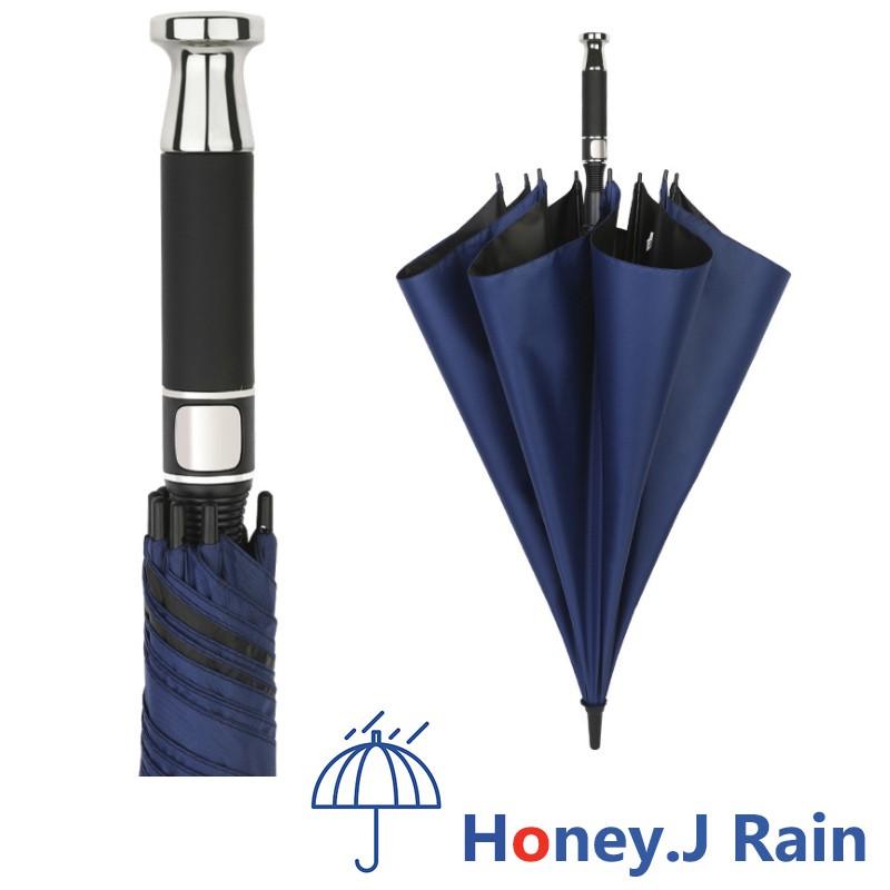 免運 全纖維 黑膠 防曬 晴雨傘 抗風傘 高爾夫傘 RR雨傘 商務黑色傘 超大 防風晴雨兩用高爾夫傘 8骨 車載家用兩用
