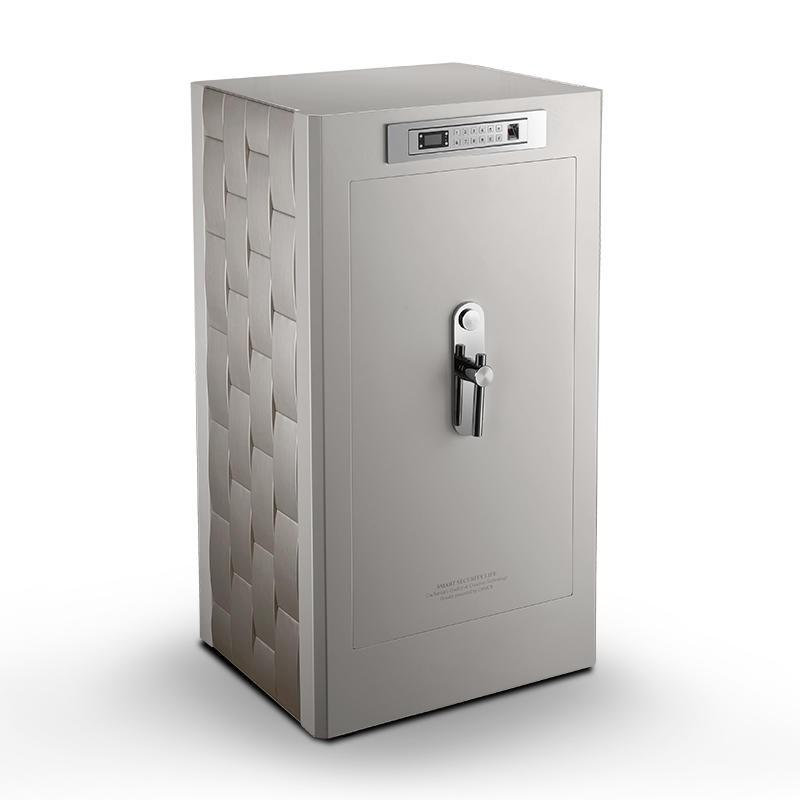 聚富凡爾賽系列頂級指紋密碼鎖保險箱Versailles S128白色訂製