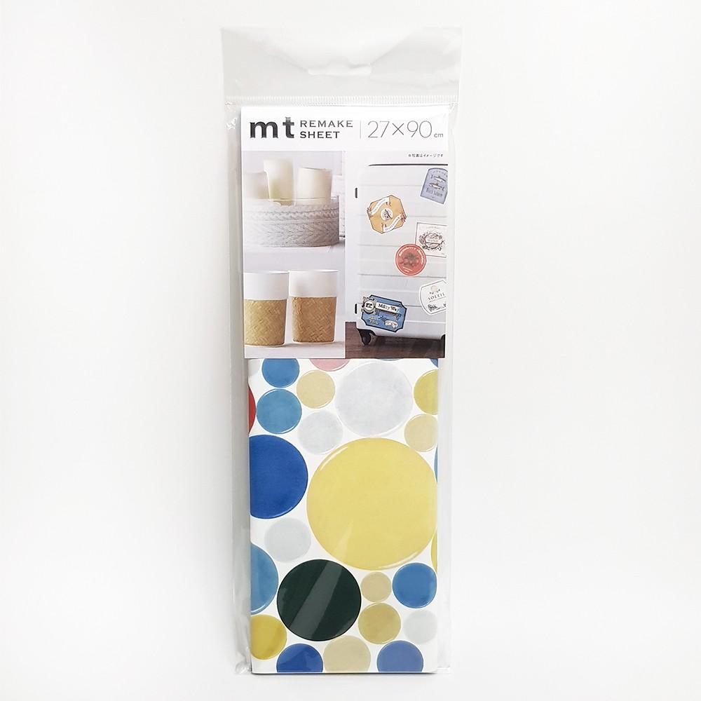 mt REMAKE SHEET 改造裝飾貼【彩圓馬賽克磚 (MTCAR0020)】