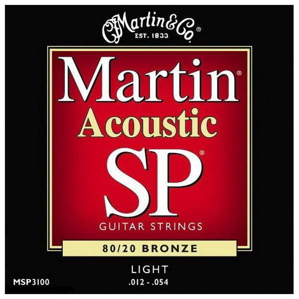 Martin SP MSP3100 80/20 BRONZE 12-54 木吉他/民謠吉他弦(缺貨中)[唐尼樂器]