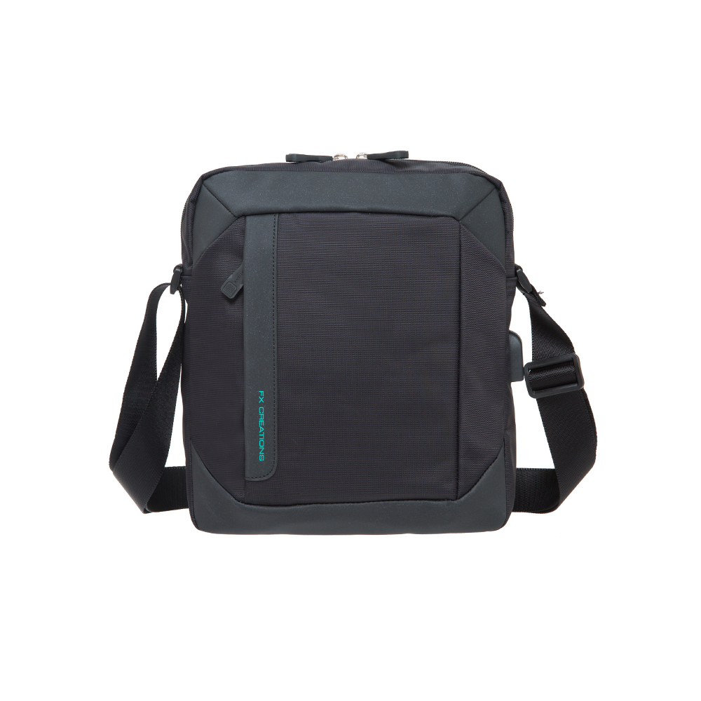 【FX Creations】GTX系列-直式側背包-黑 GTX76052-01