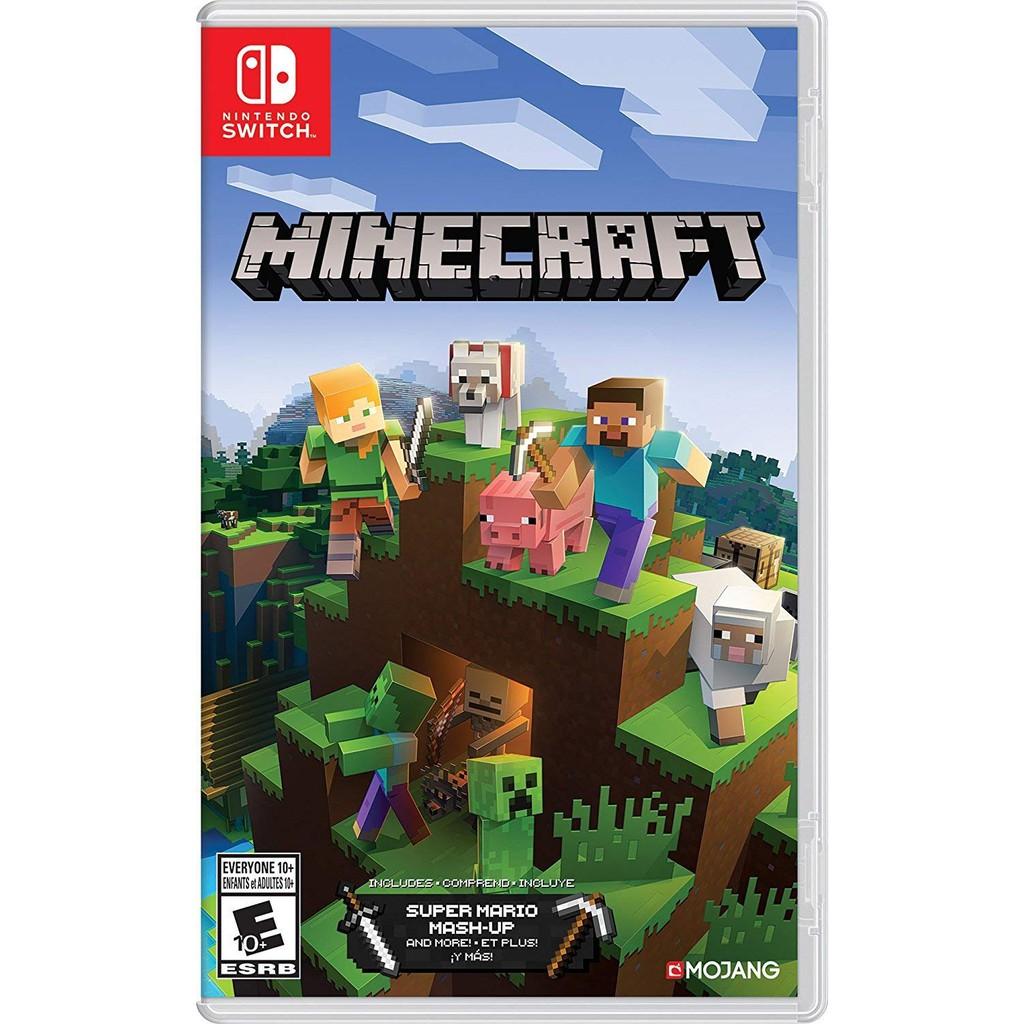 NS Switch 我的世界 創世神 Minecraft 歐版 有中文字幕