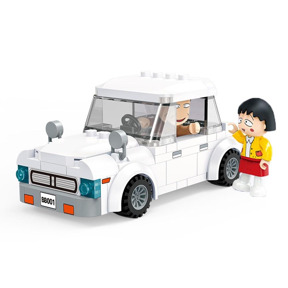 BanBao邦寶積木 櫻桃小丸子系列 爸爸的汽車 8152 【酷比樂】