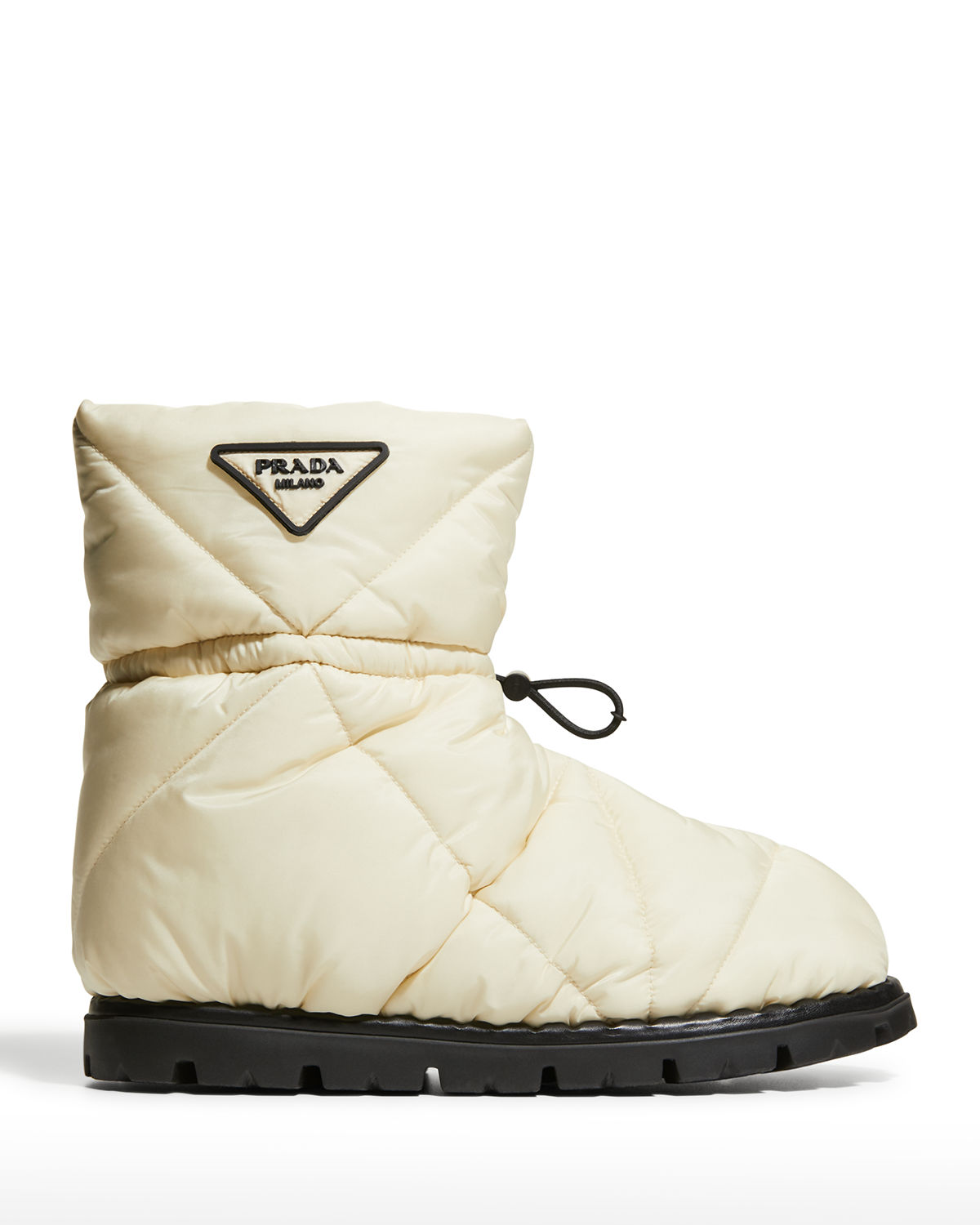 Blow Quilted Nylon Snow Booties