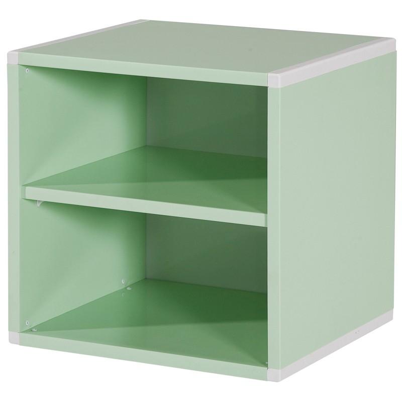 【C1008-05】塑鋼二層箱(PW-001B)(綠色)