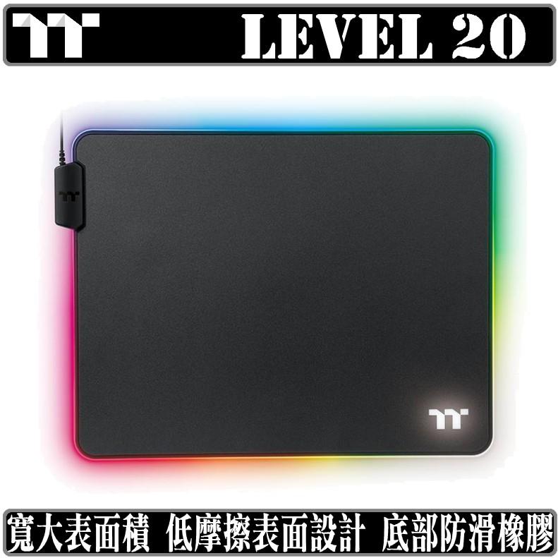 曜越 TT Premium Level 20 RGB 電競 滑鼠墊
