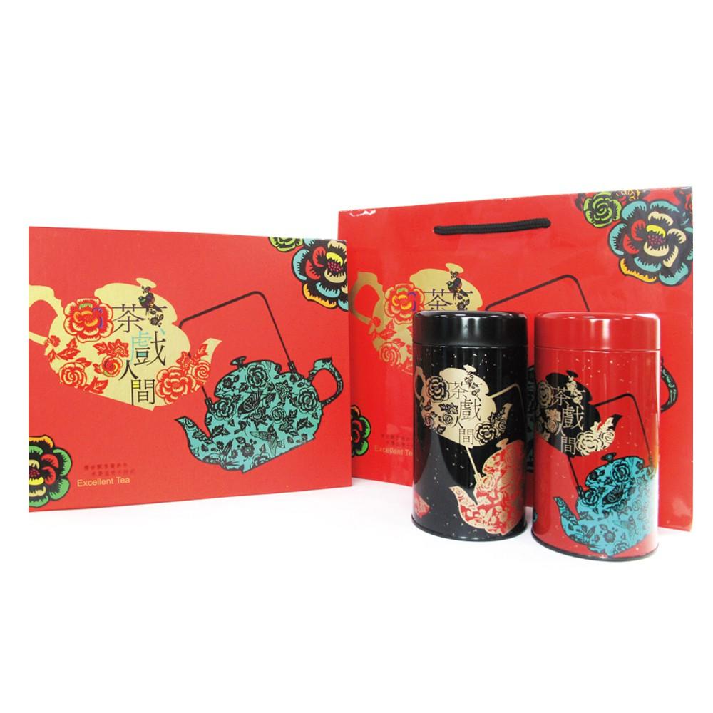 [現貨]台灣茶人 炙霧鐵觀音 半斤茶葉超值禮盒 (茶戲人間系列)