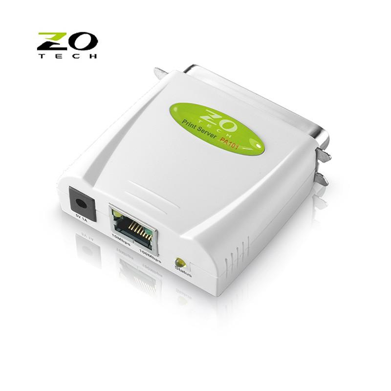 ZO TECH 零壹科技 PA101 印表機伺服器 支援IEEE1284平行埠介面