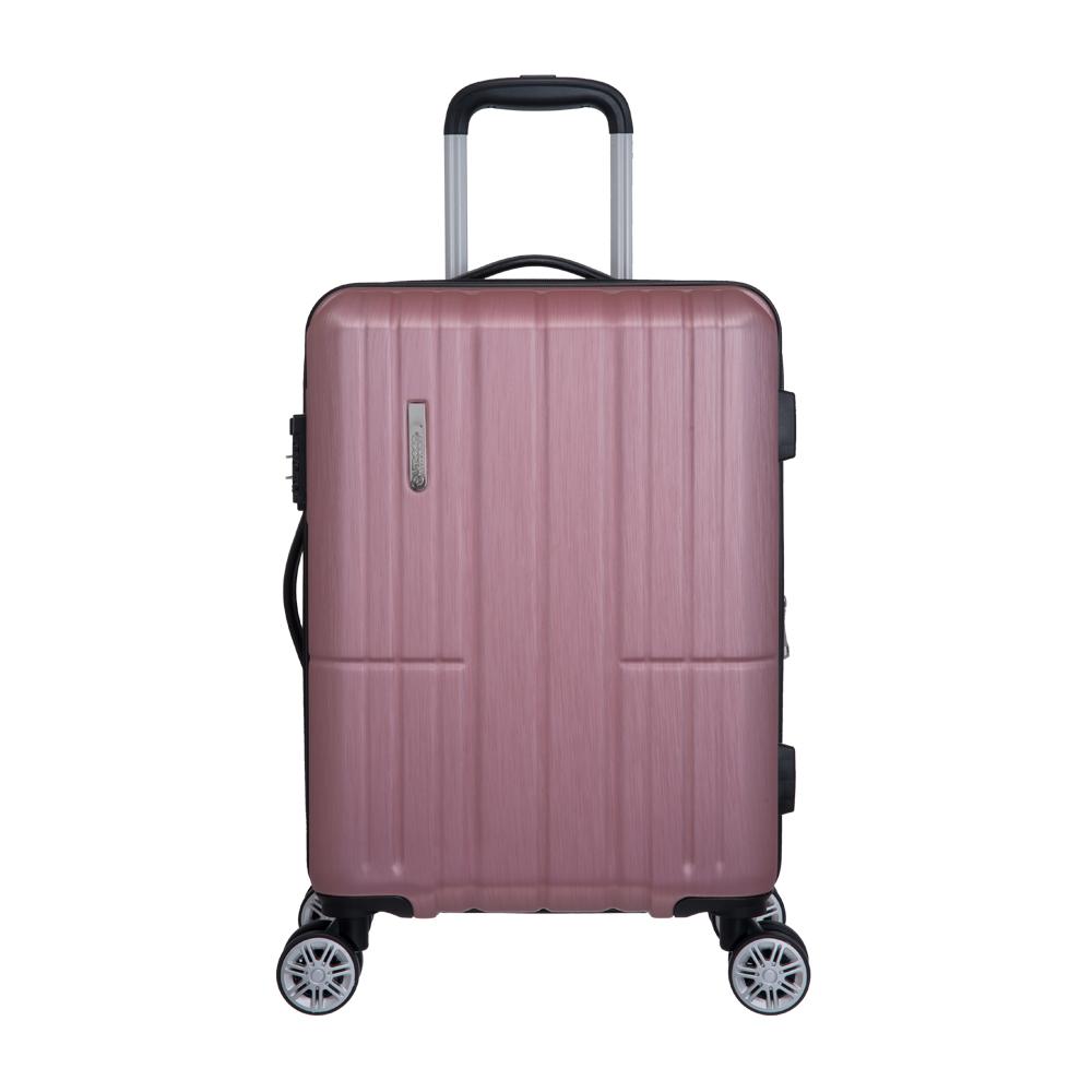 【OUTDOOR】AIRLINE -20吋拉鍊箱-粉紅 OD1716B20PK