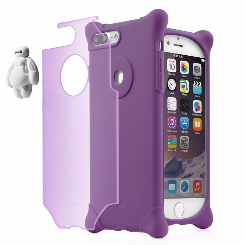 【Bone】iPhone 8 Plus / 7 Plus 四角防撞 泡泡保護套 - 杯麵【Bone 官方】