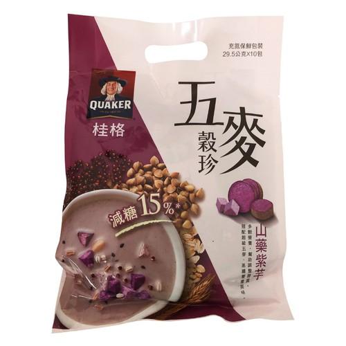 桂格 五麥穀珍-山藥紫芋(29.5GX10包)[大買家]
