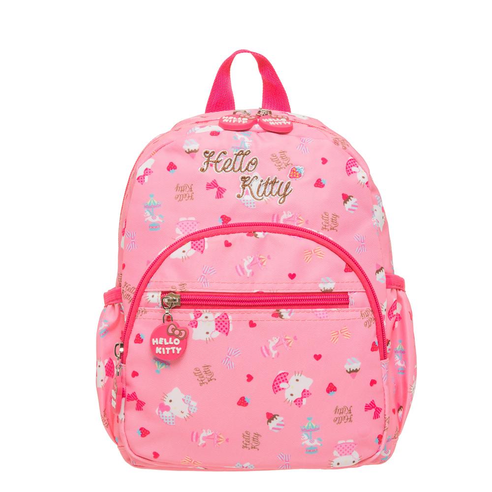 【HELLO KITTY】夢幻樂園-後背包(小) 粉紅 KT02C01PK (IMKS)