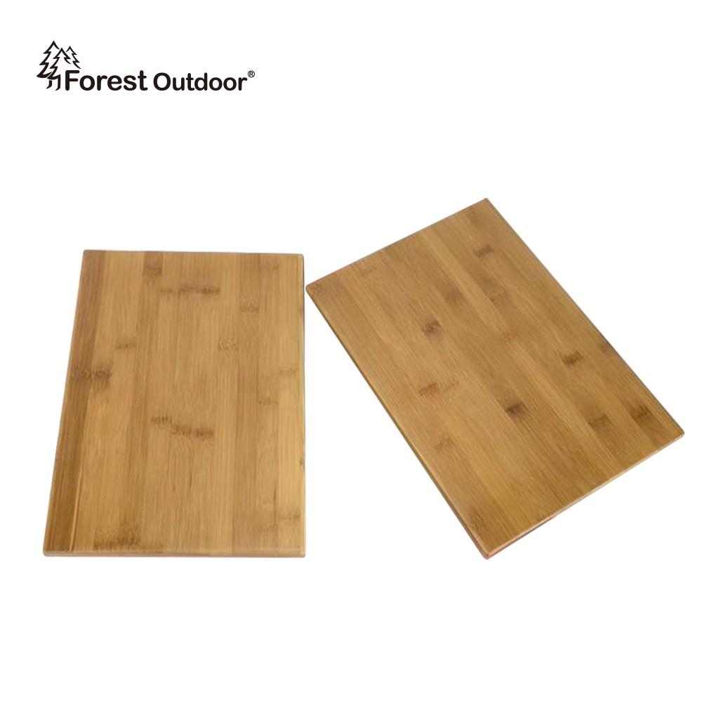 Forest Outdoor【二片式竹製桌板】折疊收納箱 楠竹桌板【愛上露營】