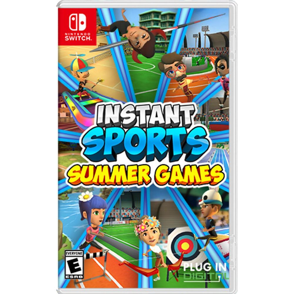 NS Switch 即時運動 夏日遊戲 中文版 遊戲片 全新未拆 及時運動 Summer Games【就是要玩】