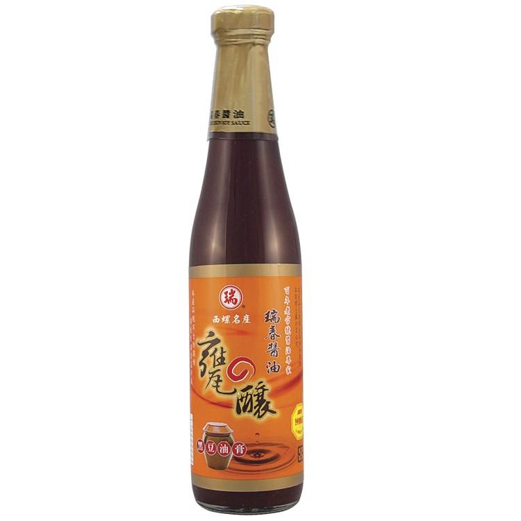 瑞春甕釀黑豆油膏 420ml  【大潤發】
