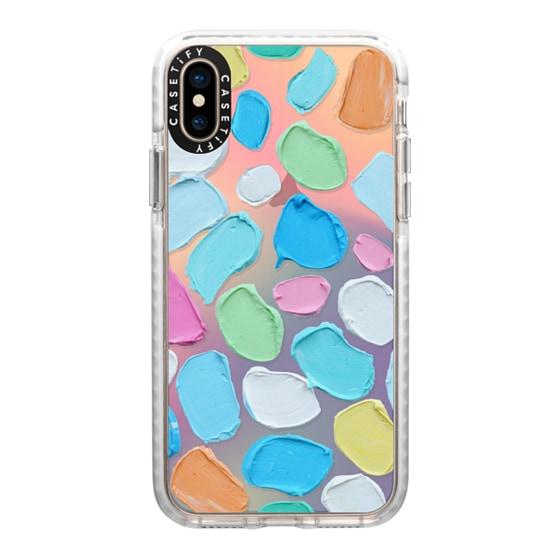 CASETiFY iPhone Xs Impact Case - Pastel Candies