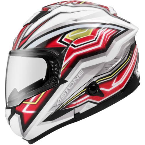 ASTONE RT1300F 安全帽 AI2 白紅 內墨鏡 可掀式 全可拆洗 吸濕排汗 全罩《比帽王》