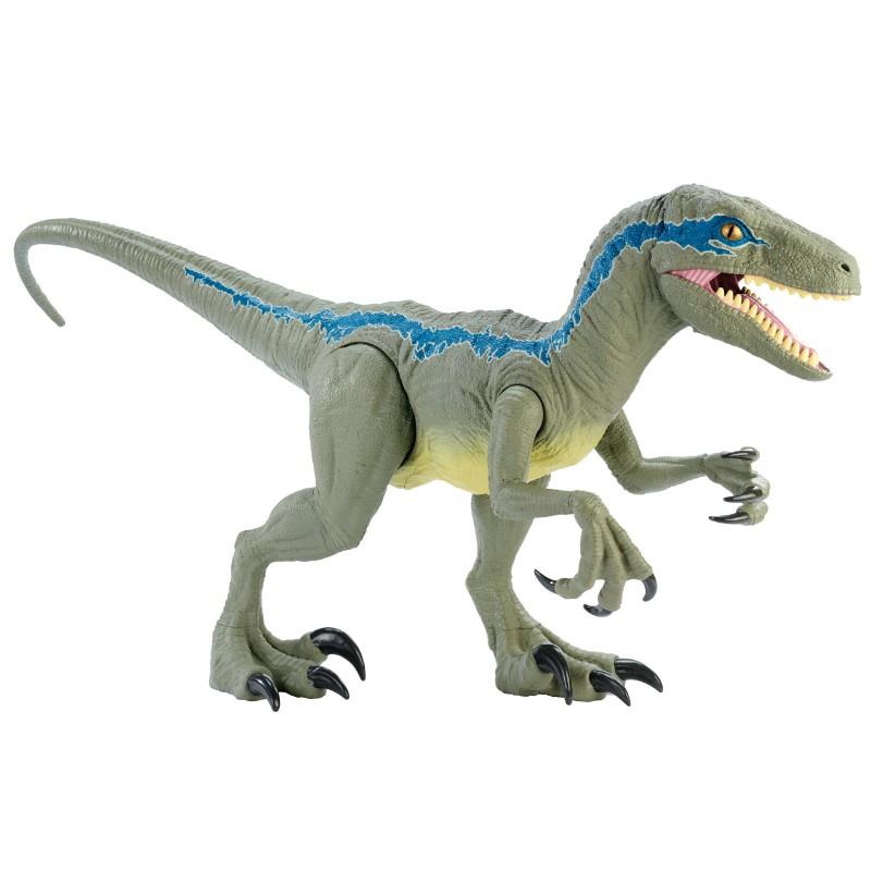 (補貨到)侏羅紀世界-巨型迅猛龍小藍 / 變種恐龍 玩具反斗城