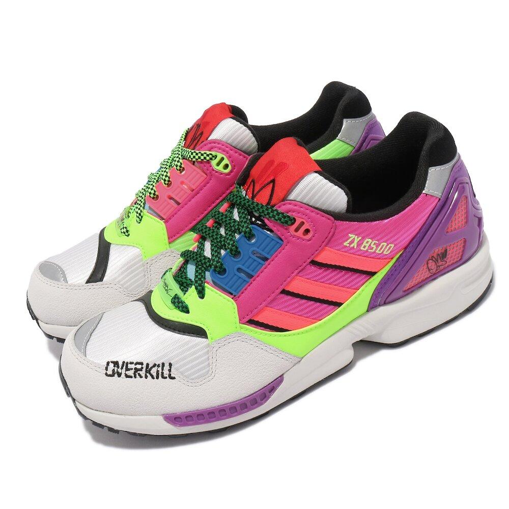 ADIDAS 休閒鞋 ZX 8500 Overkill 運動 男鞋 愛迪達 舒適 避震 聯名鞋款 穿搭 彩 灰 [GY7642]