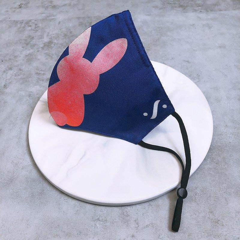 【100%頂級桑蠶絲】可重用絲質口罩  立體貼面設計 抗菌銀離子層