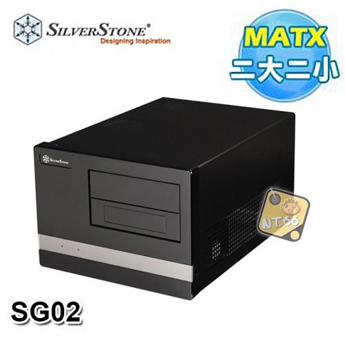 SilverStone 銀欣 SST-SG02 USB3.0 鋼板機身 機殼 (黑色)