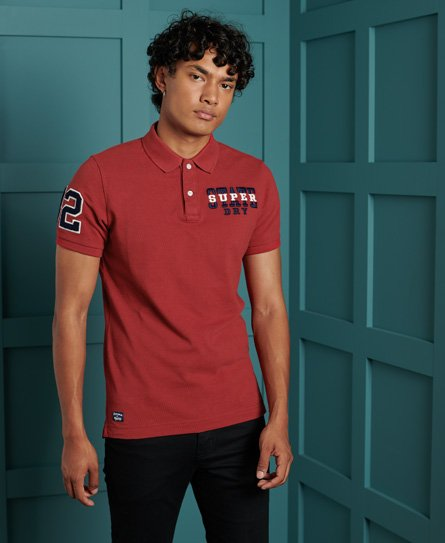 Superdry Organic Cotton Superstate Polo Shirt