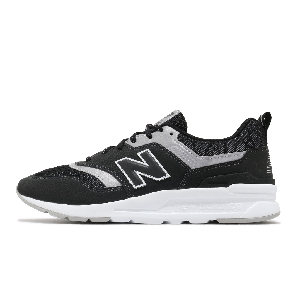 New Balance 997H 黑 灰 爆裂紋 反光 男鞋 NB 休閒鞋 復古慢跑 【ACS】CM997HFI D
