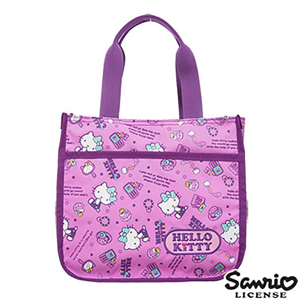 【BTU x Kitty】Hello Kitty 休閒潮流手提包-紫KT88B04PL