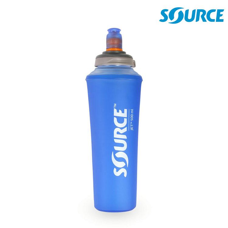 SOURCE JET 軟式輕量水瓶 2070700105 0.5L / 城市綠洲 (收納、便攜、水瓶、慢跑、旅遊)